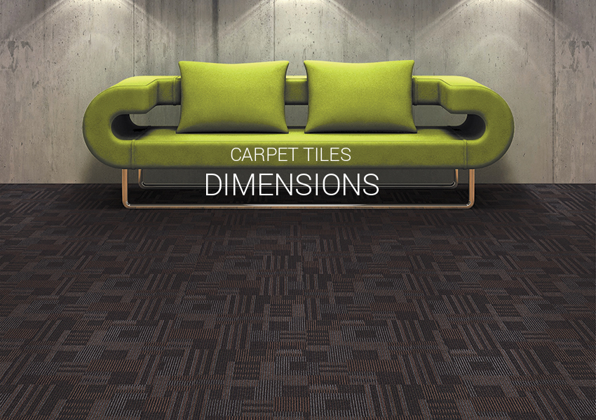 Carpet Tiles Dimensions